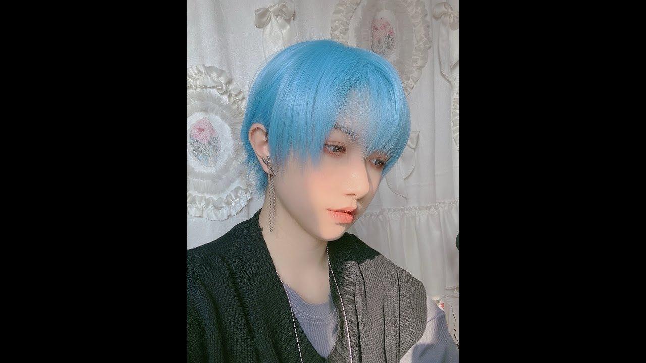 我爱蓝色秀发和阳光