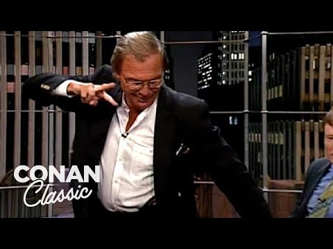 """Adam West Does The Batusi  - """"Late Night With Conan O'Brien"""""""