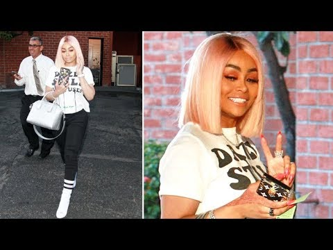 EXCLUSIVE - Blac Chyna Laughs Hysterically When Asked About Khloe Kardashian Amid Cheating Scandal