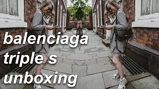 LUXURY UNBOXING: BALENCIAGA TRIPLE S - ARE THEY ACTUALLY WORTH IT?
