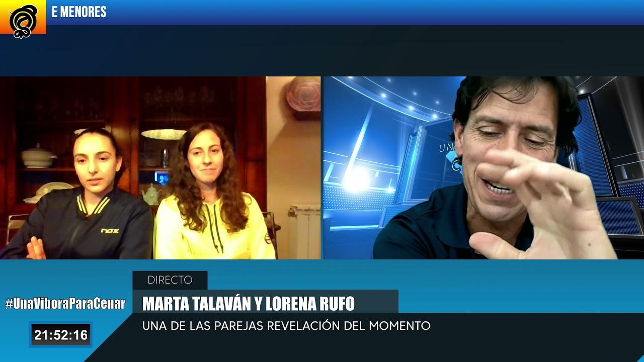 Marta Talaván y Lorena Rufo en Una Víbora para Cenar. PROGRAMA 21