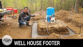 Off Grid Home Build (#9): Building a Block Well House (Part 1)