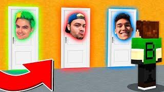 NÃO ESCOLHA O YOUTUBER ERRADO !! - Minecraft (Luccas Neto,Felipe Neto e Authentic)