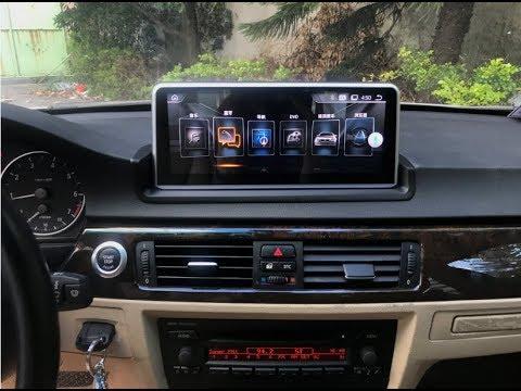BMW 3 series E90/E91/E92/E93 10.25 inch Android screen installation
