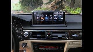 BMW 3 series E90/E91/E92/E93 10.25 inch Android Carplay Multimedia navigation system installation
