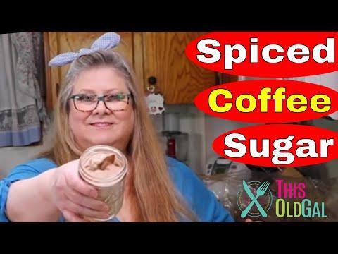 Spiced Vanilla Sugar & Keto Spiced Vanilla Sugar [Coffee Sugar]