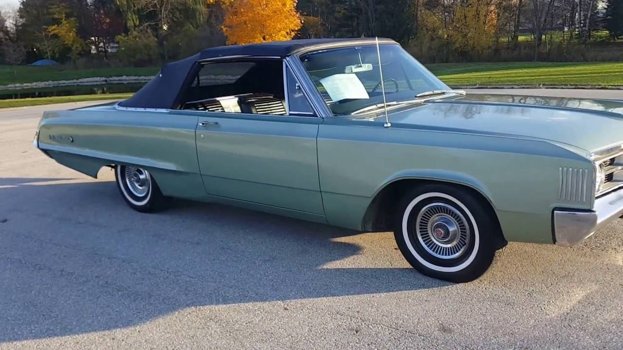1967 Dodge Polara convertible NO RESERVE EBAY AUCTION - YouTube