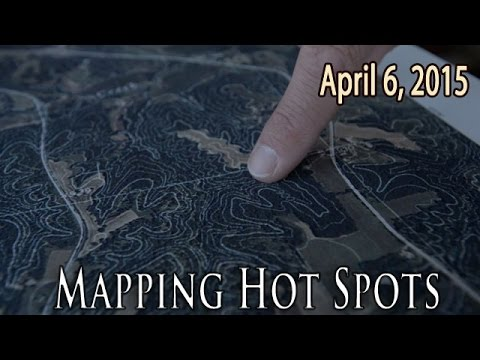 Mapping hot spots for deer hunting
