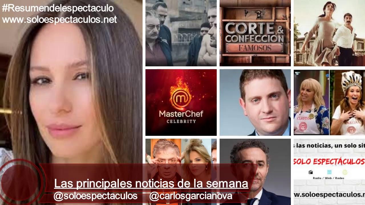 Los nuevos MasterChef no gustan / La culpa de Pampita / Rivadavia se Renueva / Corte y Confección