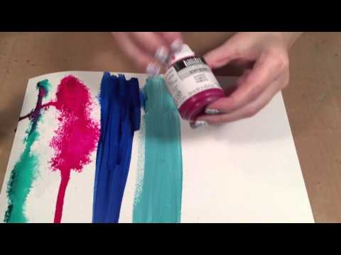 The Differences between Acrylic Paints