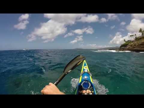 Molokai finish  and China Wall Video
