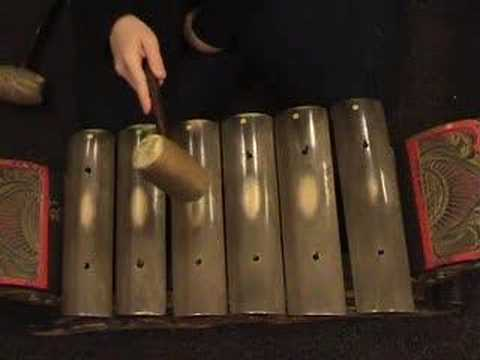 Central Javanese Gamelan Playing Techniques - Saron