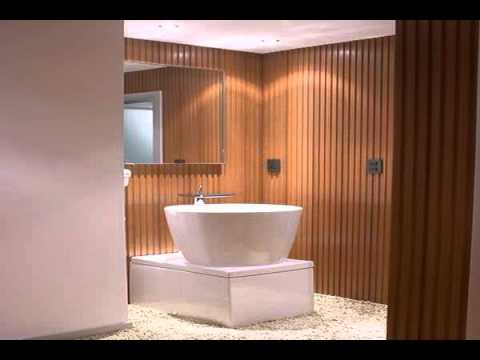 wood plastic wall panel interior design YouTube