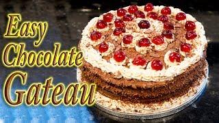 Chocolate Gateau from scratch