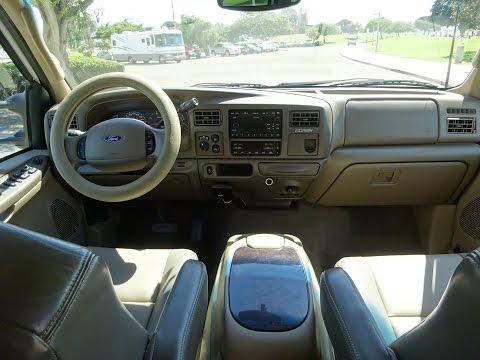 2003 FORD EXCURSION EDDIE BAUER 7.3L DIESEL 4X4 173K FOR SALE FULL TEST DRIVE