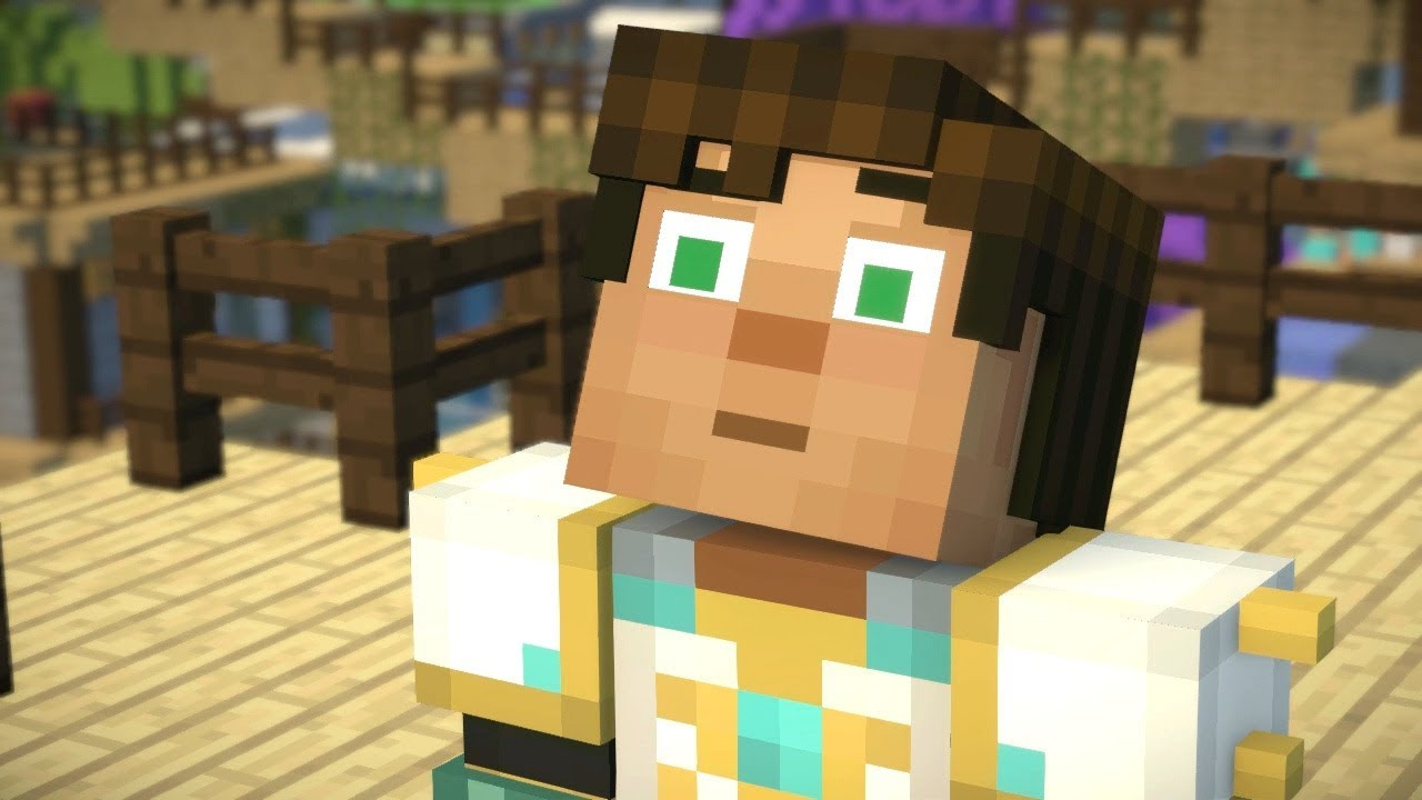Jesse Lies To The Admin Minecraft Story Mode Season 2 Episode
