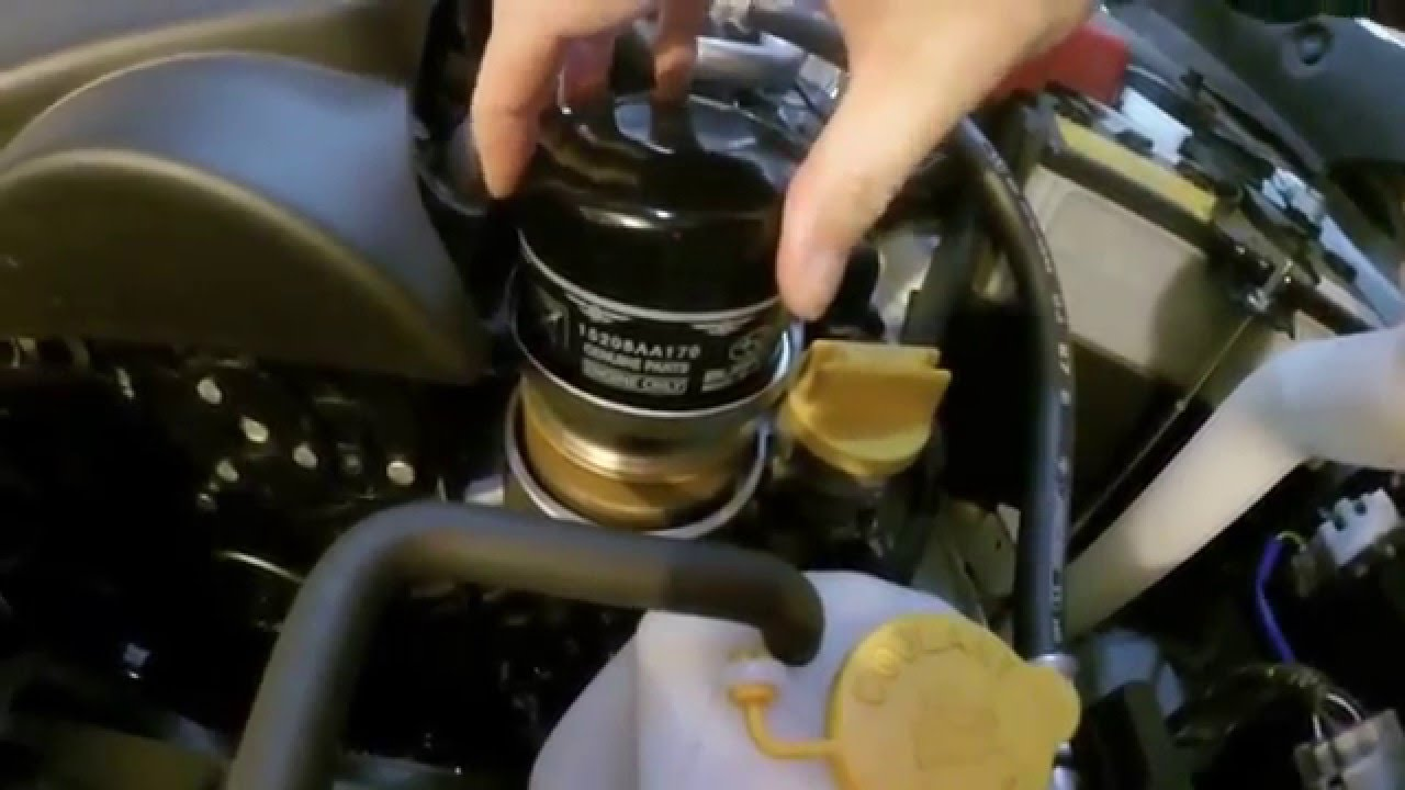 2015 Subaru Forester XT: Ep. 15: Oil Change #2 - YouTube