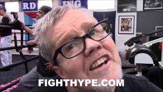 FREDDIE ROACH EXPLAINS HOW GENNADY GOLOVKIN WAS EXPOSED; LIKES MIGUEL COTTO'S CHANCES