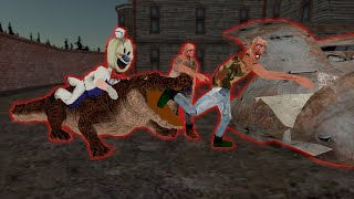 Ice Scream 5  vs Evil Nun 3 vs The Twins funny animation part 178 screenshot 5