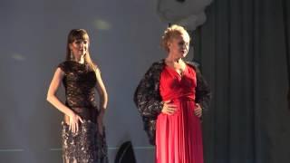 Именной шоу-показ новых коллекций 'Мода-2016' дизайнера Елены Головиной. Роза Мительман