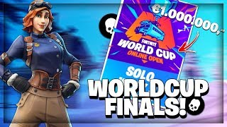 Solo World Cup Finals €1.000.000 Toernooi!! // Road To 10K // Fortnite Battle Royale!!