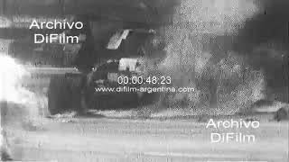 Motoring - Fatal accident of the pilot Pedro Rodriguez in Germany 1971 FOOTAGE ARCHIVE