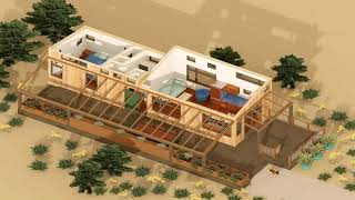 Tiny Beach House Floor Plans Gif Maker - Daddygif.com  See Description