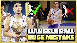 LIANGELO BALL REJECTS G-LEAGUE TRYOUTS TO STAY IN THE JBA LEAGUE!