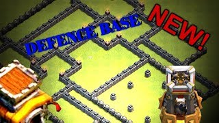 CLASH OF CLANS |TH8 BEST TROPHY BASE DESIGN !!!(2017) | WITH BOMB TOWER {DEFENCE BASE} UNBEATABLE!!