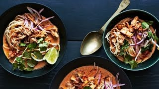 Bon Appetit - Chicken Khao Soi Thai Curry Soup