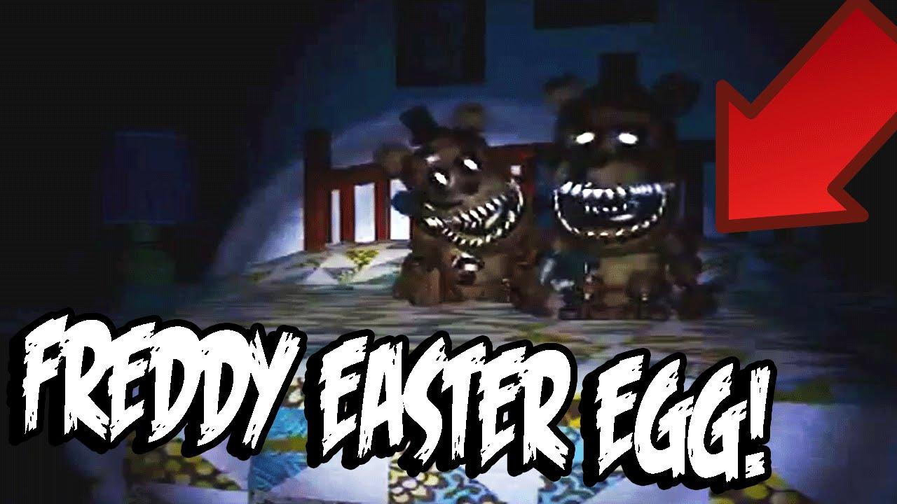 ... at Freddyu0026#39;s 4: FREDDY SECRET EASTER EGG FOUND IN TRAILER! - YouTube