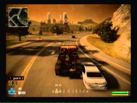 Twisted Metal PS3 How to detonate unselected weapons