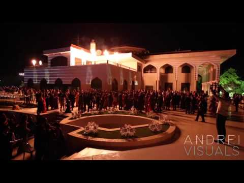Palace Projection Mapping - Amman, Jordan
