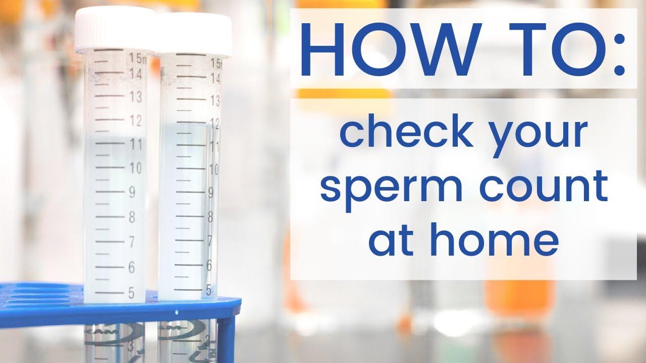 At home test sperm
