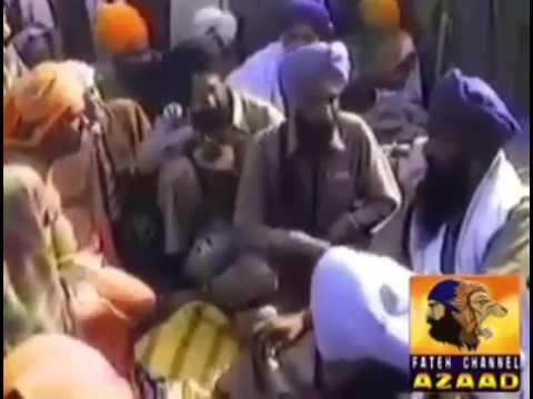 Sikh vs Hindu video sant jarnail singh bhindranwale