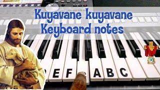 Kuyavane kuyavane keyboard notes   குயவனே குயவனே   Tamil christian songs   #134