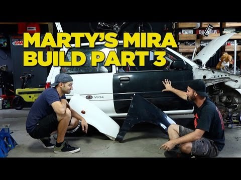 Marty's MIRA Build [Part 3]