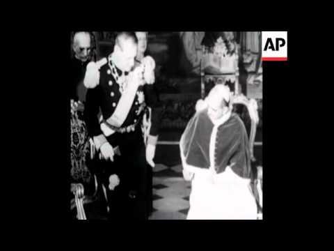 SYND 12 1 72 FILM FILM OF KING FREDERICK OF DENMARK