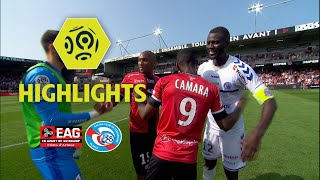 EA Guingamp - RC Strasbourg Alsace (2-0) - Highlights - (EAG - RCSA) / 2017-18
