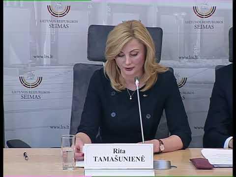 2019-04-23 Lietuvos lenkų rinkimų akcijos-Krikščioniškų šeimų sąjungos frakcijos spaudos konf.