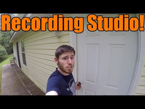 NEW RECORDING STUDIO And GARAGE TOUR!