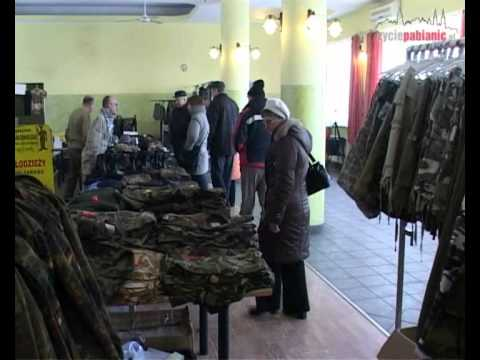 Militaria w Pabianicach