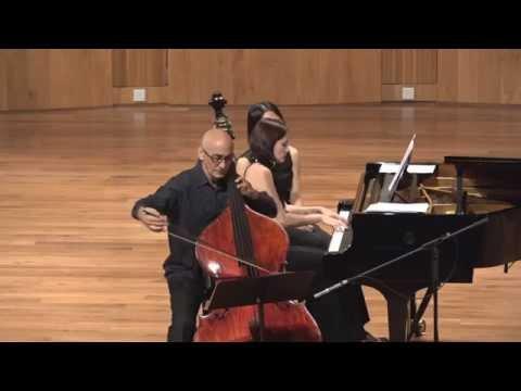 Catalin Rotaru, double bass - Cesar Franck violin sonata