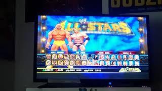 WWE All-stars Wii gameplay.