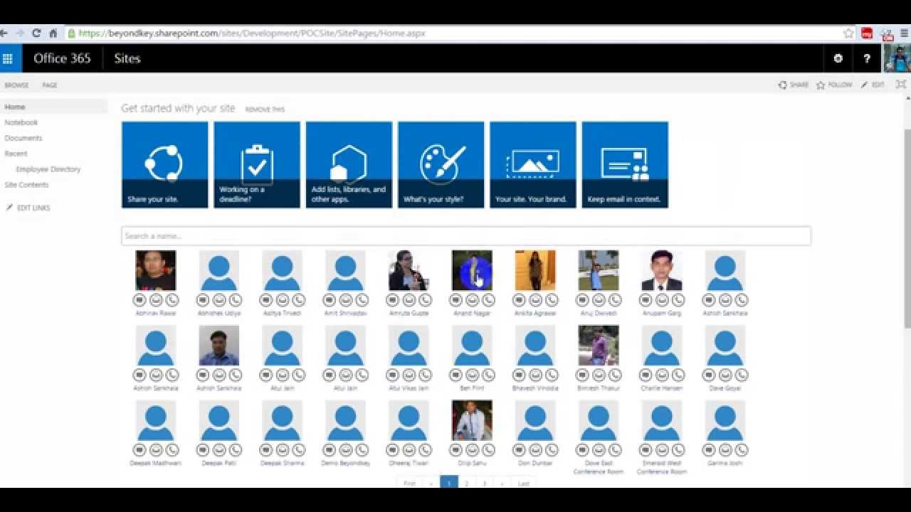 Instructions to Install Employee Directory SharePoint App from ...