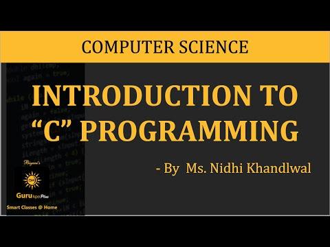 Basic C Program, C Programming(BCA I, MCA I, M.Sc. IT) Gurukpo