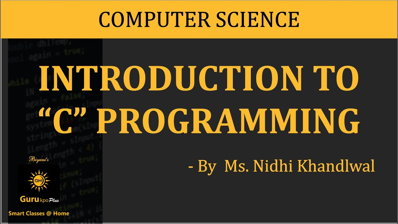 Basic C Program, C Programming(BCA I, MCA I, M Sc  IT) Gurukpo