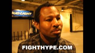 SHANE MOSLEY REVEALS CONVERSATION WITH FLOYD MAYWEATHER; SAID HE