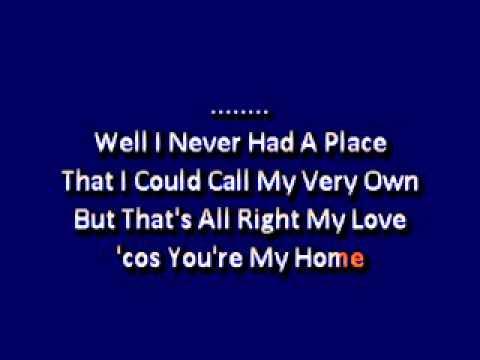 Billy Joel  You re My Home karaoke