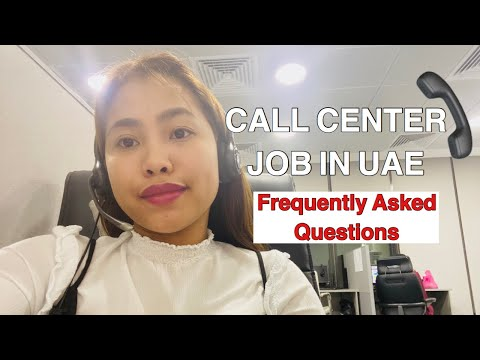 Paano maging Call Center sa Abu Dhabi UAE? FAQ's about  Call